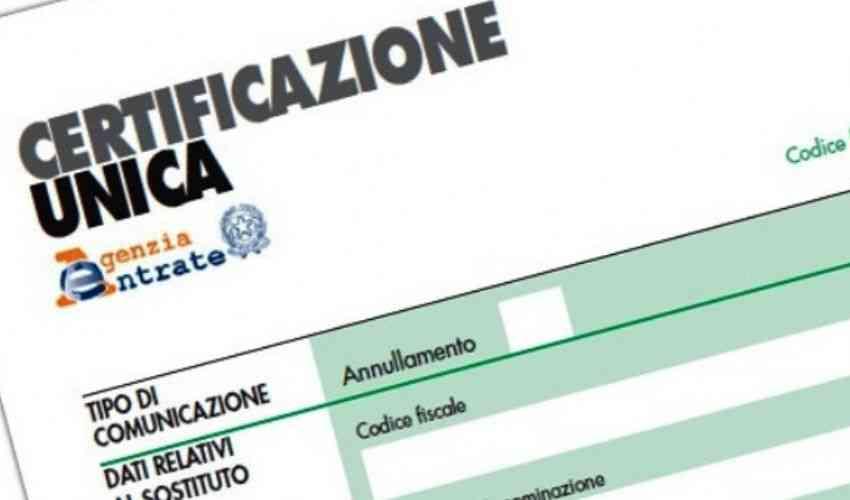 Il 16 marzo scadono i termini per la trasmissione della Certificazione Unica