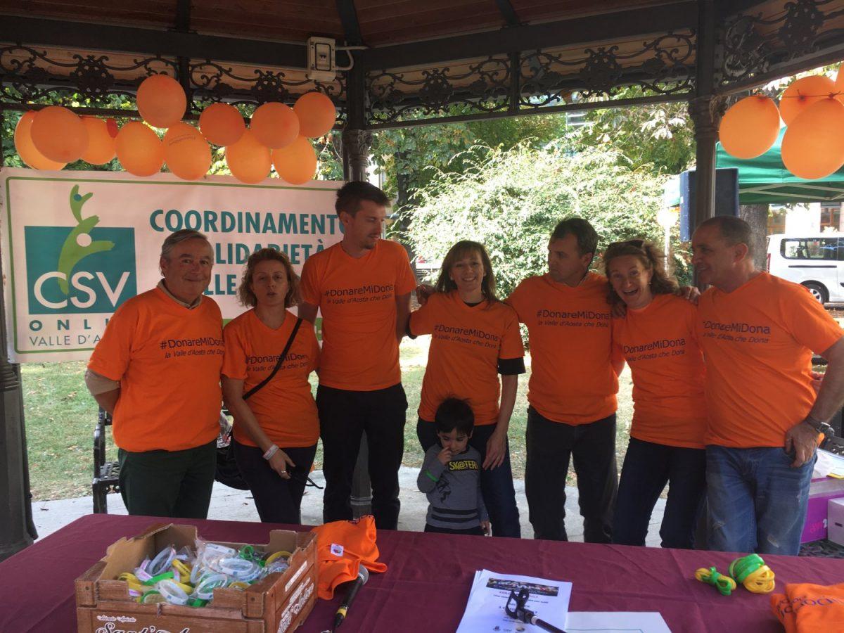 Il 6 ottobre ad Aosta si celebra il Donoday 2018