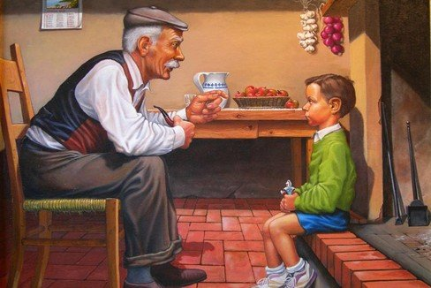 Raccontateci nonni quando…