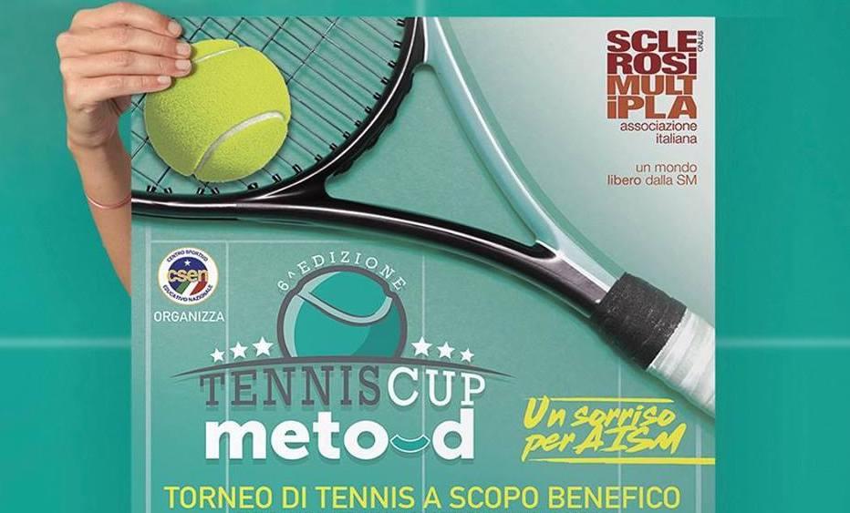 """Torna la """"Tennis Cup – Meto-d"""" in favore dell'AISM"""