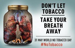 Il 31 maggio la Giornata Mondiale Senza Tabacco