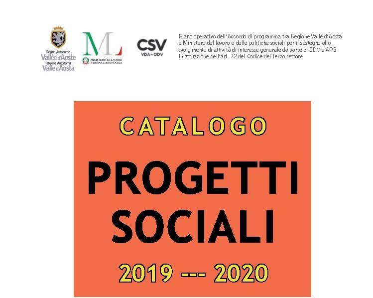 È online il catalogo dei progetti sociali finanziati con il bando CSV