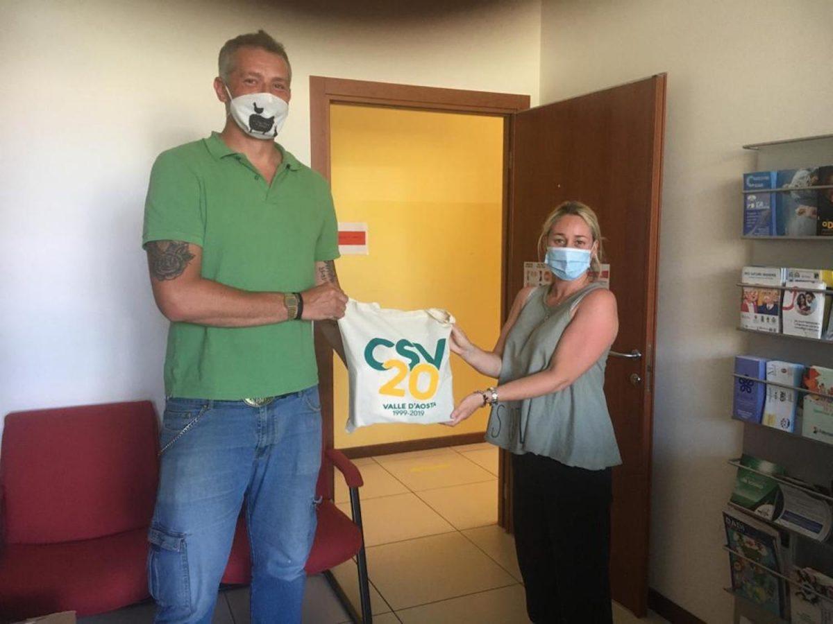 Il CSV dona alle associazioni di volontariato kit igienico-sanitari