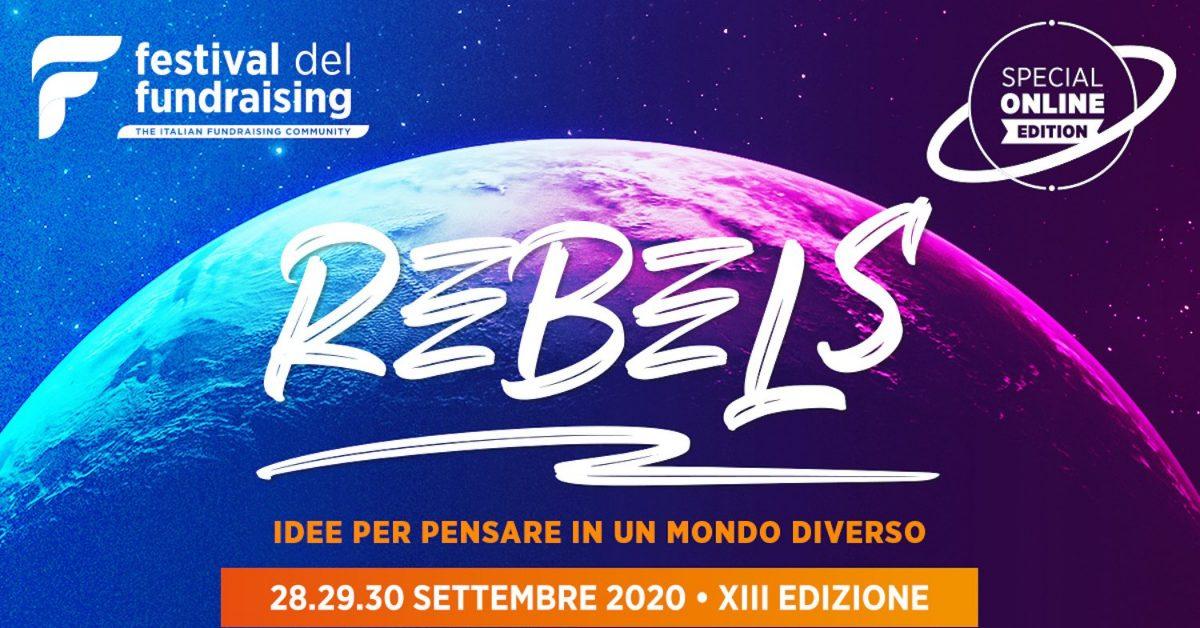 Dal 28 al 30 settembre il Festival del Fundraising diventa online
