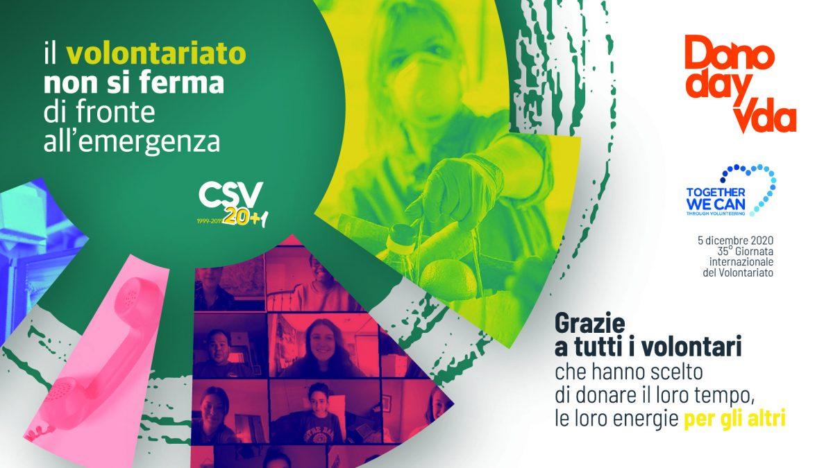 Anche in Valle si celebra il 5 dicembre, la Giornata internazionale del volontariato