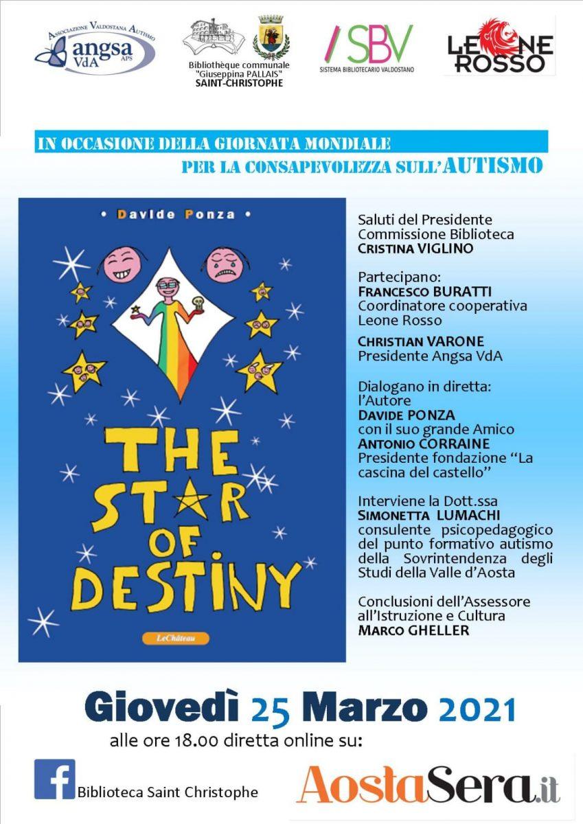 """Il giovane Davide Ponza presenta il suo libro """"The Star of Destiny"""""""