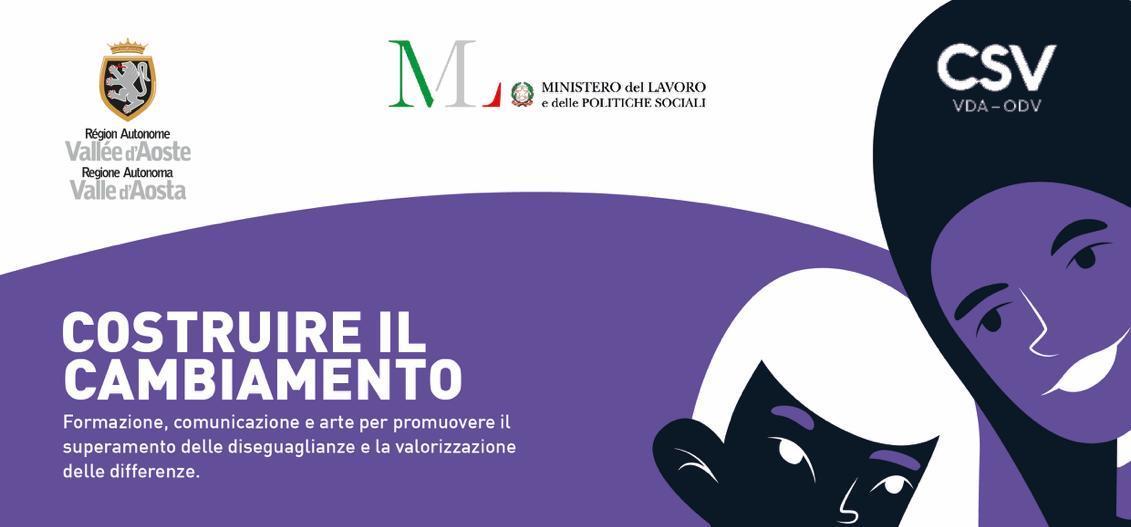 """""""Costruire il cambiamento"""" per combattere disuguaglianze e stereotipi: nasce il nuovo progetto di DORA – Donne in Valle d'Aosta"""