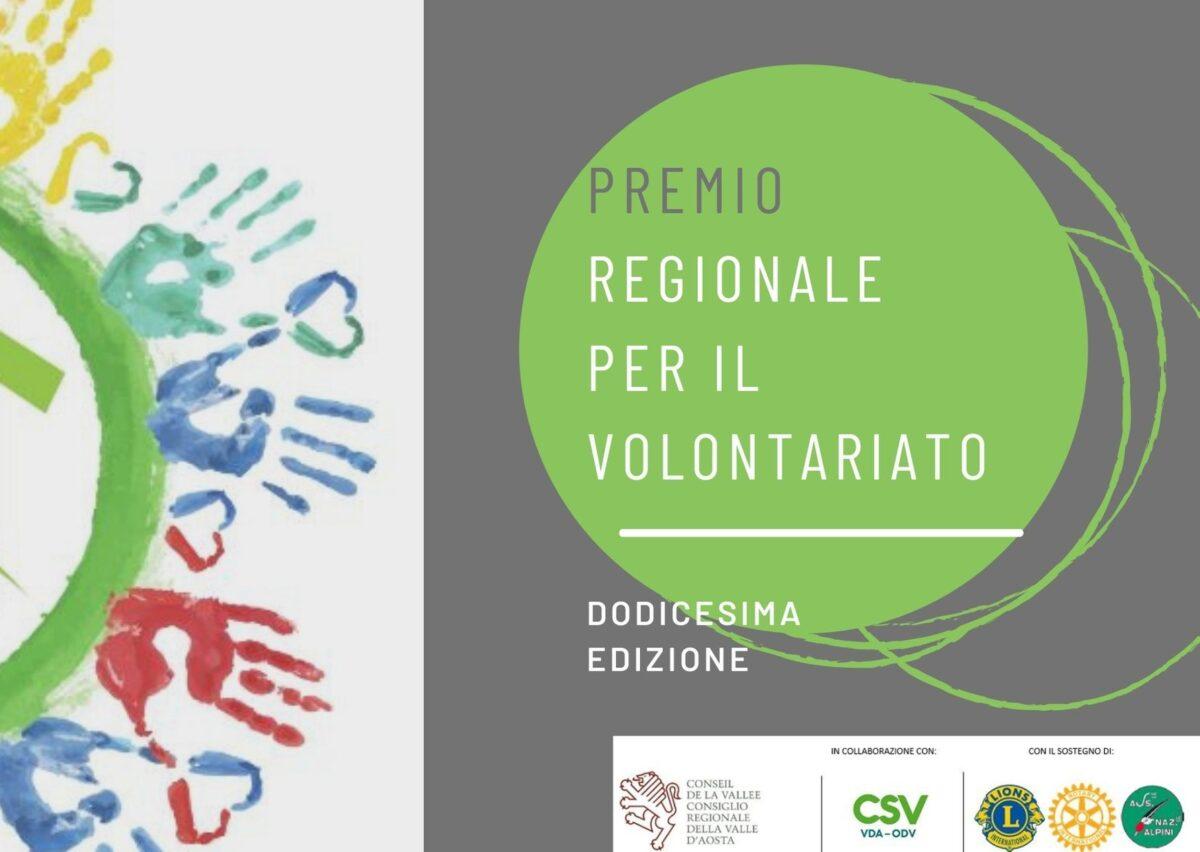 """""""Premio Regionale per il Volontariato"""", candidature entro il 10 settembre"""
